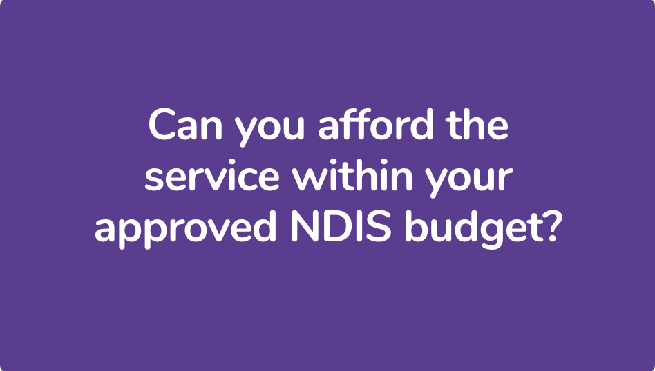 NDIS Plan Management Service Consideration