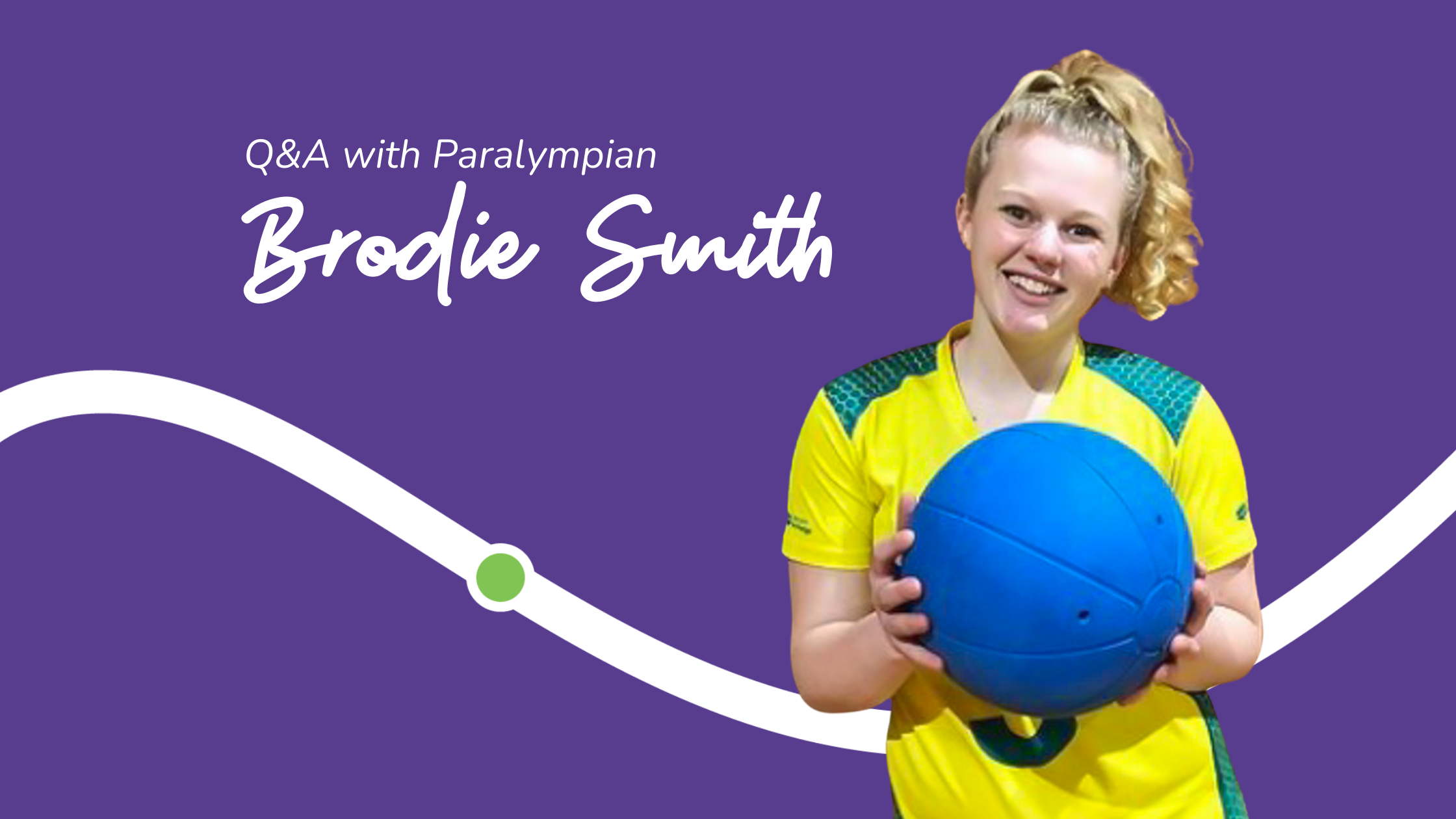 Q&A with Paralympian Brodie Smith