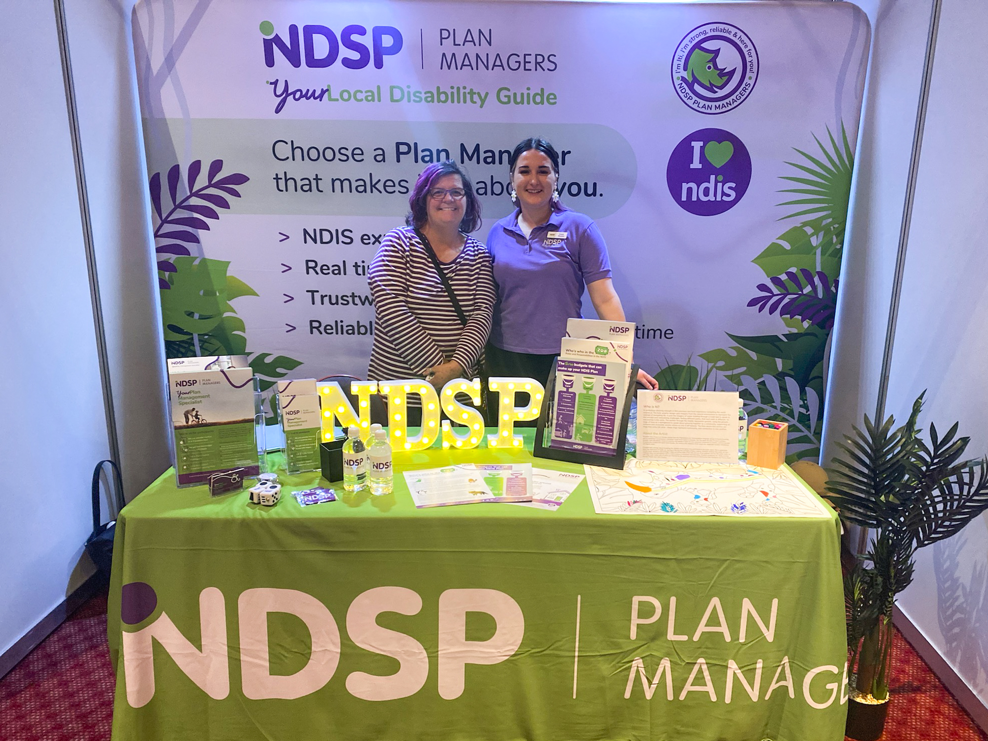 Leanne with NDSP's Zosie